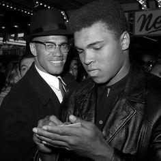 Malcolm X & Muhammad Ali