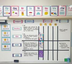 How to display Marzano learning goals and scales