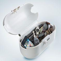 Aqua Vault Personal Safe - White @ BeachStore.com