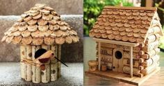 Créations en bouchons de liège Creations in corks More cork note Bedroom Crafts, Diy Home Crafts, Easy Diy Crafts, Creative Homemade Gifts, Arts And Crafts Storage, Cork Art, Wine Cork Crafts, Christmas Ornaments To Make, Bird Houses