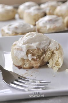 Biscuit Cinnamon Rolls. Delicious breakfast recipe. perfect for when you have company!