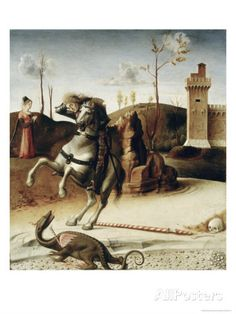 Saint George, from the Pala Pesaro Giclee Print by Giovanni Bellini at AllPosters.com