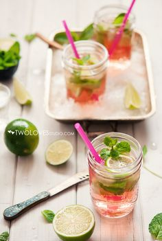 Mojitos, because summer is coming soon !