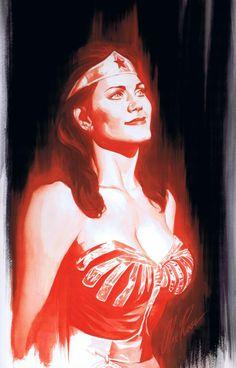 Princess Diana aka Wonder Woman as portrayed by Lynda Carter courtesy of Alex Ross