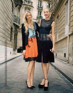 Virginie & Claire Courtin-Clarins