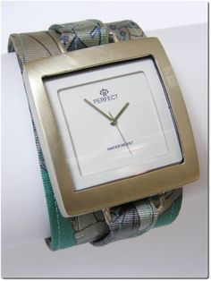 handmade watch, bracelet with tie by kahuna-aRT