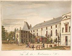 Malmaison à l'époque de Joséphine (Château Malmaison, Malmaison France).
