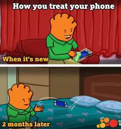 Whenever I Get A New Phone