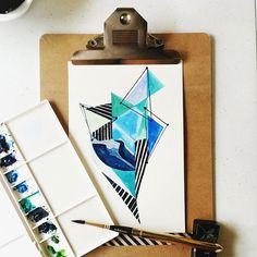 02/30 #calligrafikas #watercolor #monologue #simbalionwatercolorcakes #vangoghwatercolors