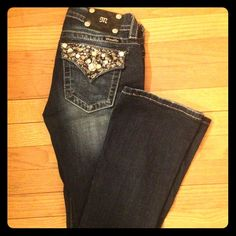 MissMe jeans Jeans with nice dark wash Miss Me Jeans Boot Cut