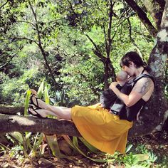 the sling diaries: ashlee and nova babywearing voice! #sakurabloom #babywearing