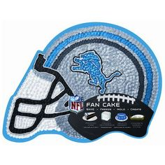 Detriot Lions Helmet Cake Pan! Football is back! My Lions will be makin moves this year!!