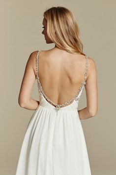 Blush by Hayley Paige Style 9601 / Detail Back View