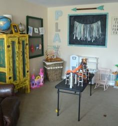 Playroom SAVED BY WENDY SIMMONS BEFORE REMODEL