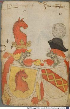 Ortenburger Wappenbuch Bayern, 1466 - 1473 Cod.icon. 308 u  Folio 32v