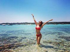 Thalía recuerda a Marimar durante vacaciones