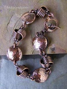 Love Me Knot Copper Bracelet...