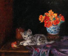 Meta Pluckebaum, un chaton ludique