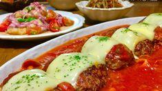 フライパンひとつで簡単♪トマト煮込みチーズハンバーグのご紹介です。|LIMIA (リミア)
