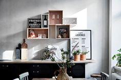 Mörkt, vackert kök med luckan Metro i svartbetsad ek | Ballingslöv