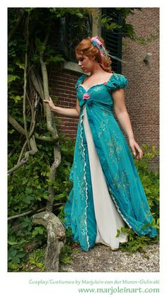 Cosplay Giselle from the Disney movie Enchanted. Made in 2008