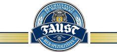 Cerveja Faust, estilo German Pilsner, produzida por Brauerei Faust, Alemanha. 4.9% ABV de álcool.