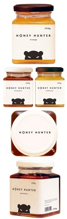 Honey hunter - cute packaging... Visit cobretti.be