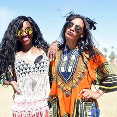 Bohemian style fashion spotted at Coachella. | essence.com