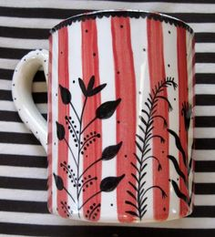 Great combination of stripes with designs