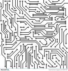 Illustration about Circuit board black and white vector background. Illustration of chip, computing, board - 39297397 Circuit Board Tattoo, Circuit Board Design, Color Vector, Vector Design, Free Vector Images, Vector Free, Happy New Year Vector, Computer Chip, Chip Art
