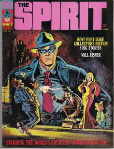 Lots of great WILL EISNER out of print volumes, limited editions, collections, classic books, magazines & comics available like this one: The SPIRIT #1 1974 Will Eisner by Warren Magazines at QualityComicsAmerica