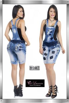 Wauui Modern Outfits, Stylish Dresses, Nice Dresses, Cute Outfits, Fashion 101, Denim Fashion, Fashion Outfits, Womens Fashion, Overalls Women
