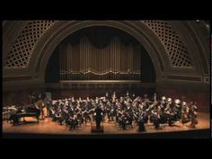 Festive Overture by Shostakovich performed by the University of Michigan Symphony Band