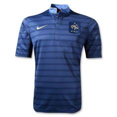 France 12/14 Home Soccer Jersey - WorldSoccerShop.com
