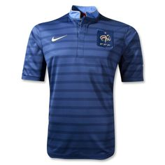 France 12/14 Home Soccer Jersey - WorldSoccerShop.com