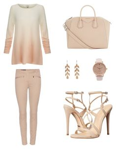 """Untitled #46"" by betalaanemets on Polyvore featuring Loro Piana, Joie, Givenchy, Schutz and Irene Neuwirth"