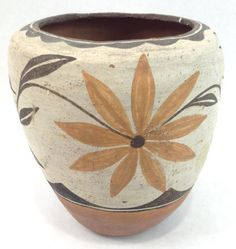 Early 20th Century Zia Pueblo Pottery Pot 937 by CulturalPatina