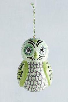 Anthropologie Flock Together Ornament