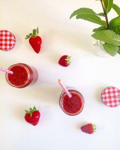 Jus fraise-menthe 🍓