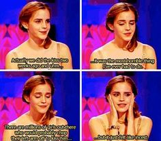 Hahahaha I'm not sure if she's talking about Rupert or Daniel....either way. Hilarious.  Lol