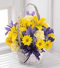 The Spirit of Spring™ Basket by FTD® - BASKET INCLUDED