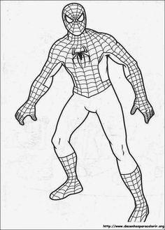 Resultado de imagem para desenhos para colorir super herois