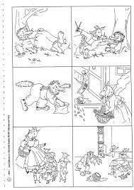 Afbeeldingsresultaat voor de wolf en de zeven geitjes mandala kleurplaat