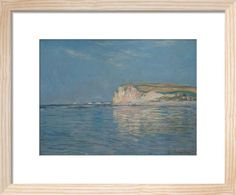 Low Tide at Pourville, near Dieppe, 1882 (Framed) Lily Pond, Claude Monet, Water Lilies, Impressionist, Contemporary Style, Home Art, Art Prints, Landscape, Frame