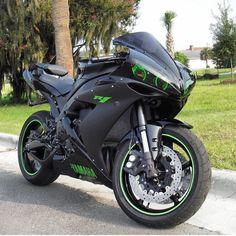 - Bikes - Futuristic, self-balancing motorcycle - Superbike Tengku Balkis Mustika 👆 YAMAHA Yamaha R1, Mt 09 Yamaha, Motos Honda, Yamaha Motorcycles, Custom Motorcycles, Green Motorcycle, Motorcycle Bike, Motorcycle Quotes, R1 Bike