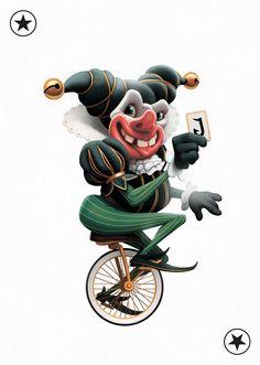 Joker by Konstantin Alekian – Special Edition – Playing Arts Joker Playing Card, Playing Cards Art, Custom Playing Cards, Joker Card, Joker Halloween, Jokers Wild, Collaborative Art Projects, Art Costume, Deck Of Cards