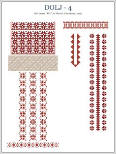 Pin on Cusut Neamț Folk Embroidery, Embroidery Stitches, Embroidery Patterns, Knitting Patterns, Cross Stitch Borders, Cross Stitch Patterns, Popular Logos, Palestinian Embroidery, Beading Patterns