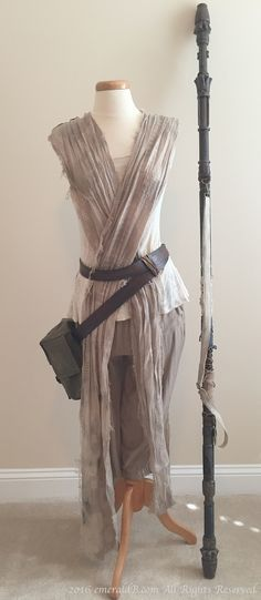 With all the recent popularity of Star Wars The Force Awakens, it's a safe bet that Rey's costume from the movie will be a favorite among all ages. Even before the movie was released, p…