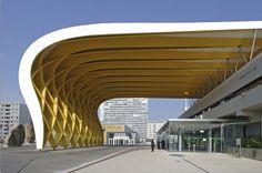 Glulam timber framework - AUSTRIA CENTER VIENNA - ArchiExpo