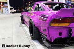Rocket Bunny Nissan 240SX 1989-93 Full Rocket Bunny 180SX / 240SX Wide-Body Aero Kit with Wing